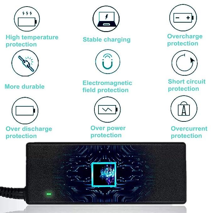Amazon.com: 90W 19V 4.74A Ac Adaptador Cargador para Toshiba ...