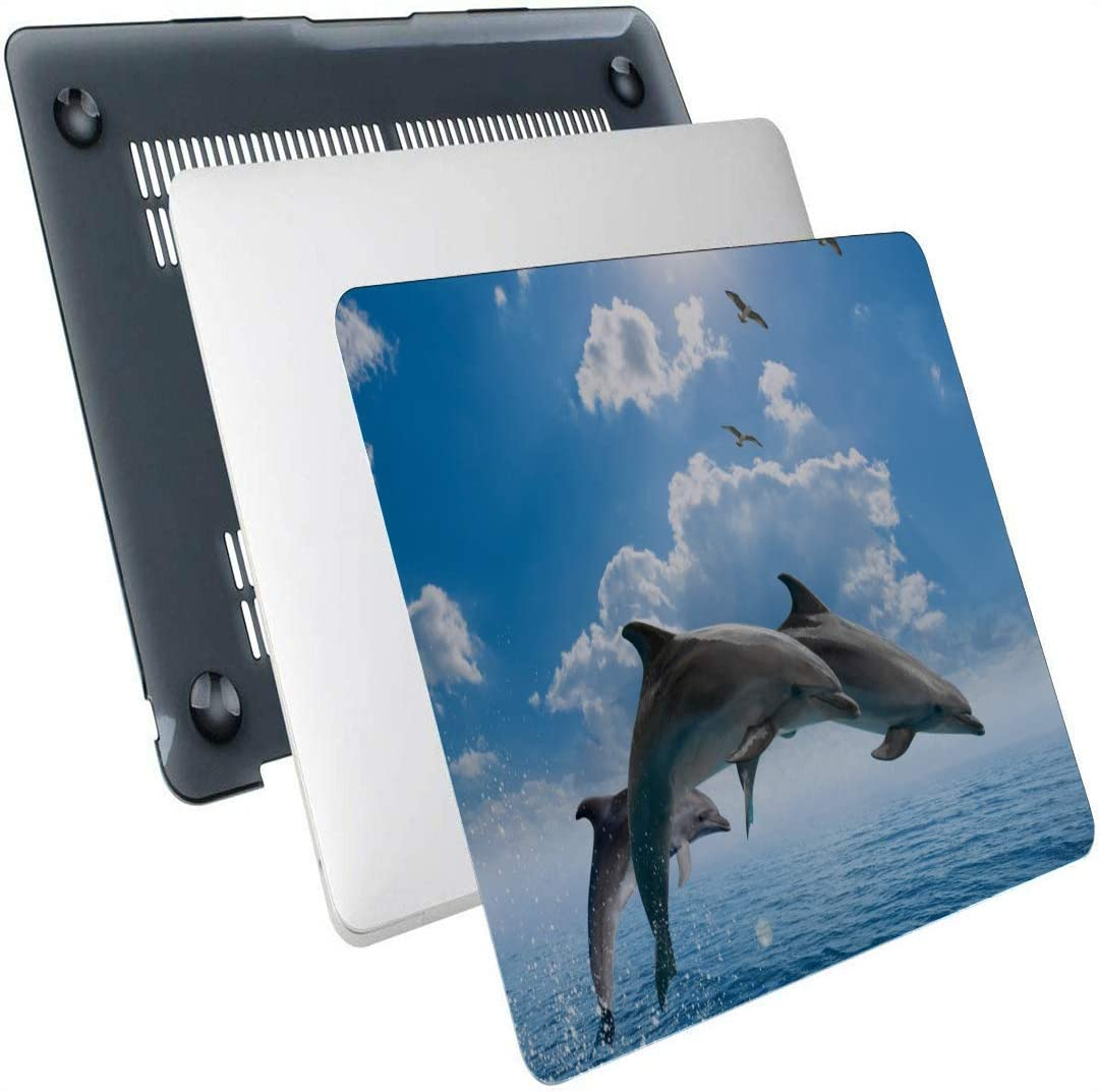 MacBook Accessories Dolphin Leap Out of The Blue Waters Plastic Hard Shell Compatible Mac Air 13 Pro 13//16 Mac Computer Case Protective Cover for MacBook 2016-2020 Version