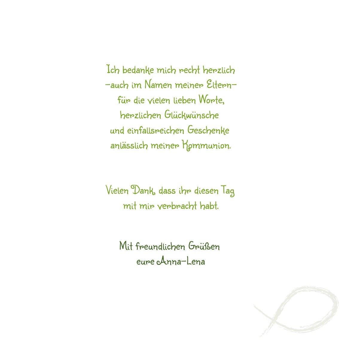 Kartenparadies Dankeskarte Kommunionswünsche Kommunion Dankeskarte Fische, hochwertige Danksagung für für für Kommunionsfeier inklusive Umschläge   20 Karten - (Format  145x145 mm) Farbe  Liladunkel B01MYE5F4F | Viele Stile  | Ruf zuerst  | Schön 6429ee