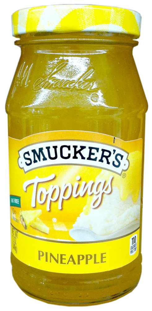 Smucker's PINEAPPLE TOPPINGS 12oz (5 Pack) by Smucker's (Image #1)