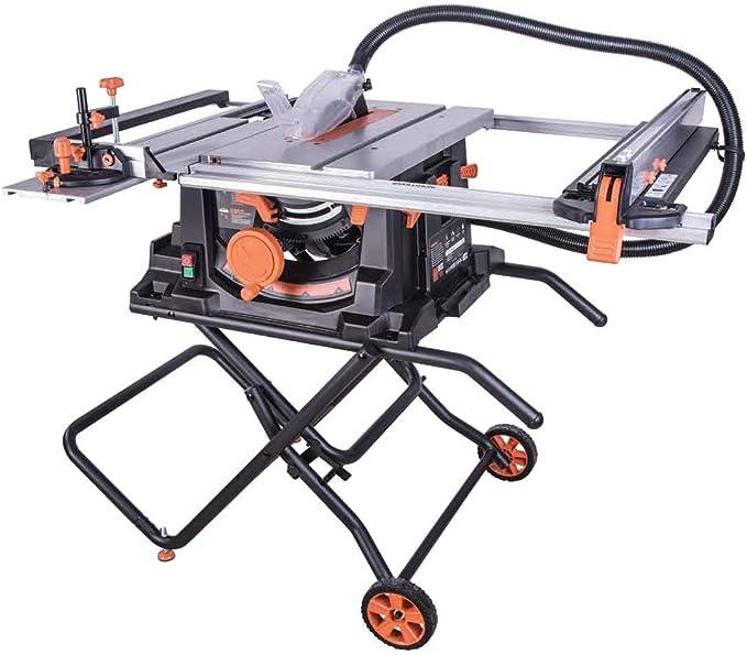 Evolution Power Tools 057-0003 Sierra de mesa multimaterial Rage 5-S, 1500 W, 230 V, 255 mm: Amazon.es: Bricolaje y herramientas