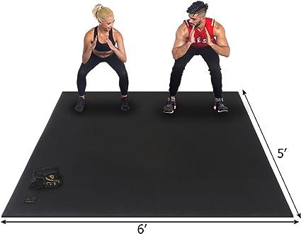 Amazon.com: GXMMAT - Esterilla de ejercicio grande de 0.236 ...