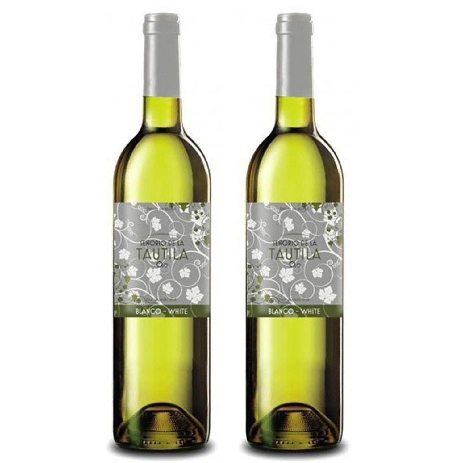 Tautila Blanco Non-Alcoholic White Wine 750ml (2 Bottles)