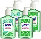 Beauty : PURELL Advanced Hand Sanitizer Refreshing Aloe, Design Series, 8 fl oz Counter Top Pump Bottle (Pack of 4)  9674-06-ECDECO