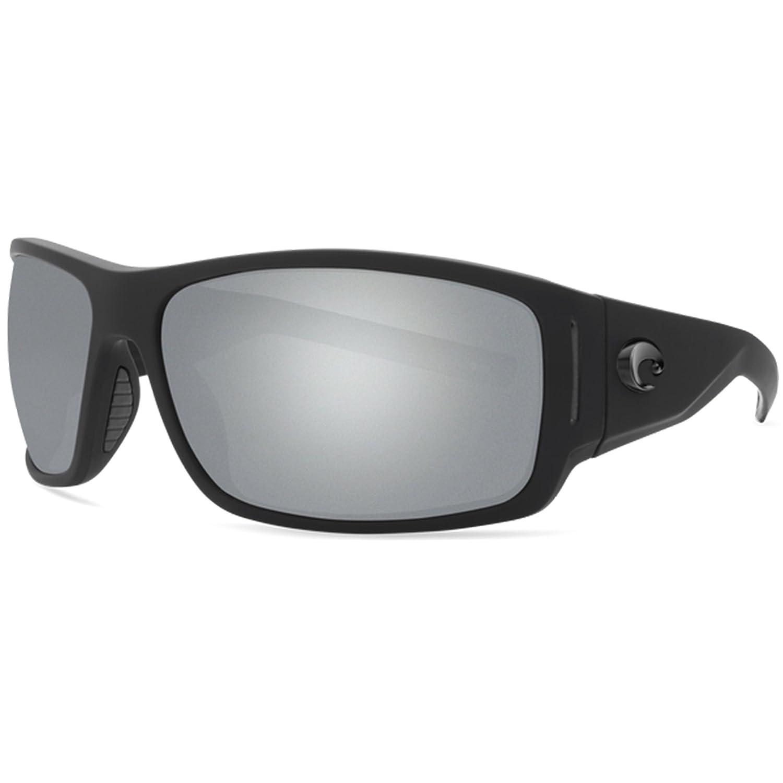 67703bd0284 Amazon.com   Costa Del Mar Costa Del Mar CAP187OSGP Cape Gray Silver Mirror  580P Matte Black Ultra Frame Cape