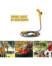 Zerone - Ducha portátil, 12 V, portátil, para camping, viaje, coche