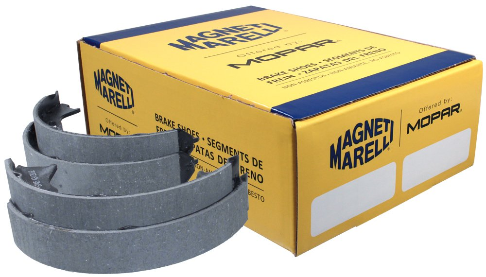 Magneti Marelli by Mopar 1AMVS00745 Parking Brake Shoe Set