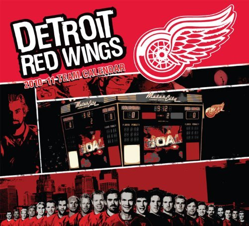 (Detroit Red Wings 2010-11 Team Calendar by Ayron Sequeira (2010-12-08) )