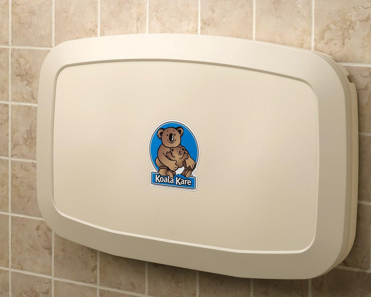 Koala Kare KB20000 Horizontal Baby Changing Station, 35 3/16 x 22 1/4, Cream