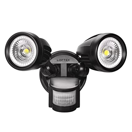 Loftek motion sensor light 26w led security outdoor light 2650lm loftek motion sensor light 26w led security outdoor light 2650lm 200w equivalent aloadofball Gallery