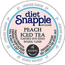 Snapple Diet Peach Iced Tea, 88 Count