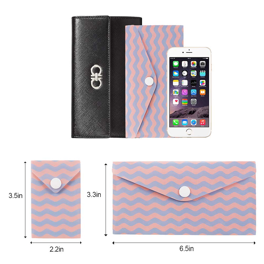 Style-A 12 Reusable Plastic Cash Envelope Budget Keeper Tear and Water Resistant Cash Envelope System,Budgeting and Saving Money Plus 12 Coin Envelopes and 12 Budget Sheets