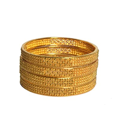 ee6c158b81aa Brazalete de oro de diseño indio tradicional