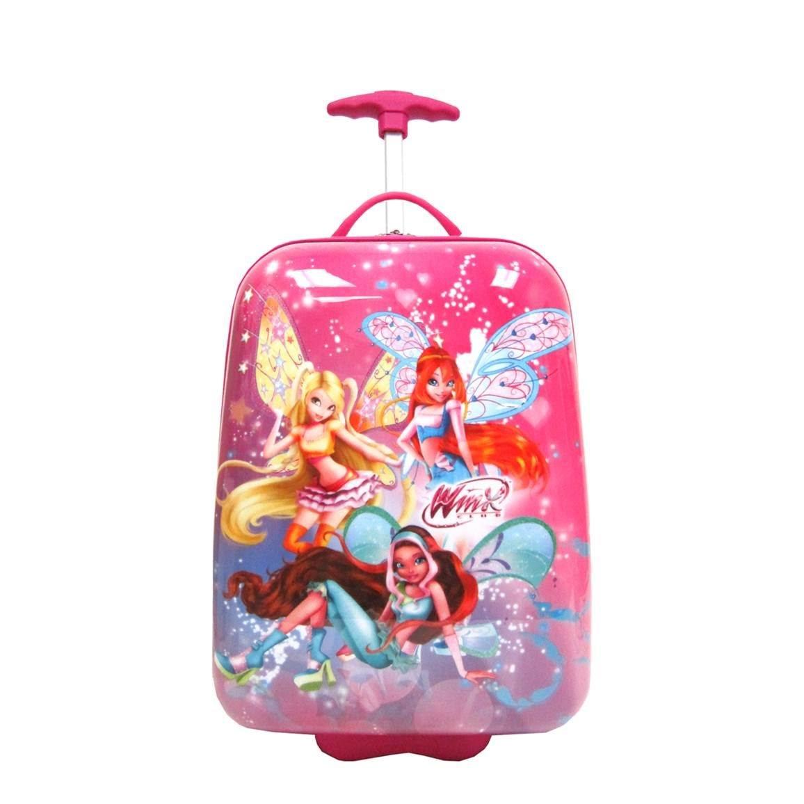 Disney Winx Club 16'' Hard Side 2-Wheeled Kids Luggage - Multi-colour