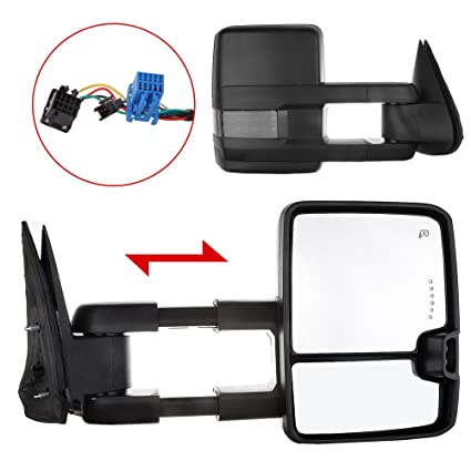 61LAmKVdiKL._SX425_ amazon com towing mirrors exterior accessories mirrors for chevy