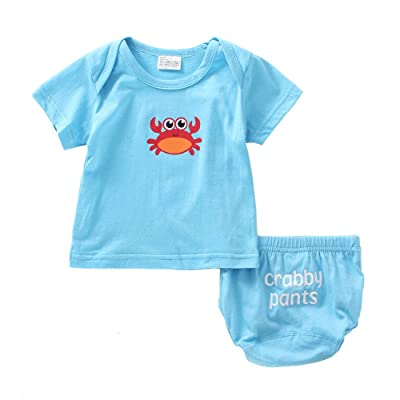 Mud Kingdom Baby Clothes Sets Cute Bloomers and Tee