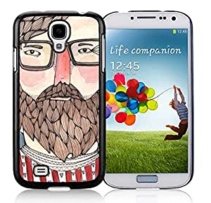 Niche market Phone Case S4 Case,Charlie White Plastic Case Samsung Galaxy S4 Case,Unique Design Galaxy S4 Case