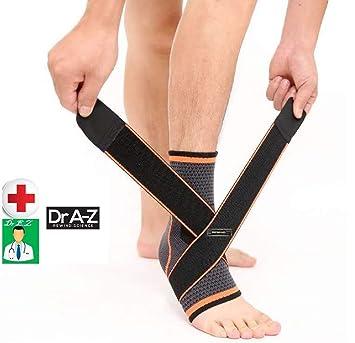 4bbf4bd2cf Dr A-Z Plantar Fasciitis Compression Sleeves Ankle Brace Support Thrombosis  Clot Night Splint Socks Heel Spur