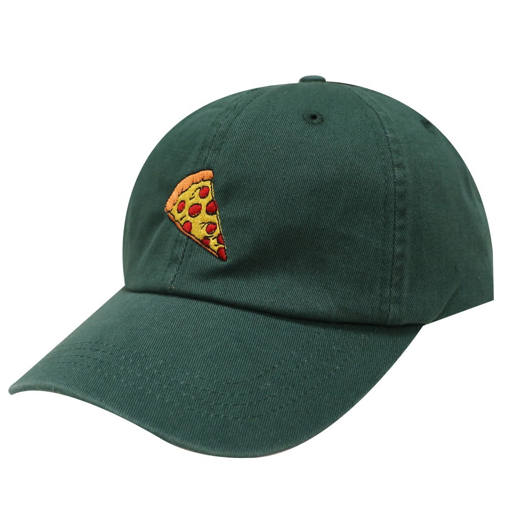 City Hunter C104 Pepperoni Pizza Cotton Baseball Dad Caps 14 Colors