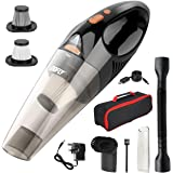DOFLY Handheld Vacuum Cordless, 8500PA Super Suction Hand Vacuum Cleaner, Rechargeable Hand Vac with LED Light…