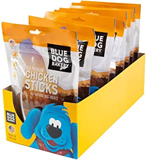 product image for Blue Dog Bakery Natural Dog Treats, Grain Free, Chicken Sticks