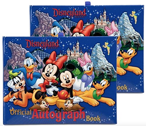 Autograph Albums Disney (Disneyland Resort Official Autograph Book Mickey & Gang - Set of 2)