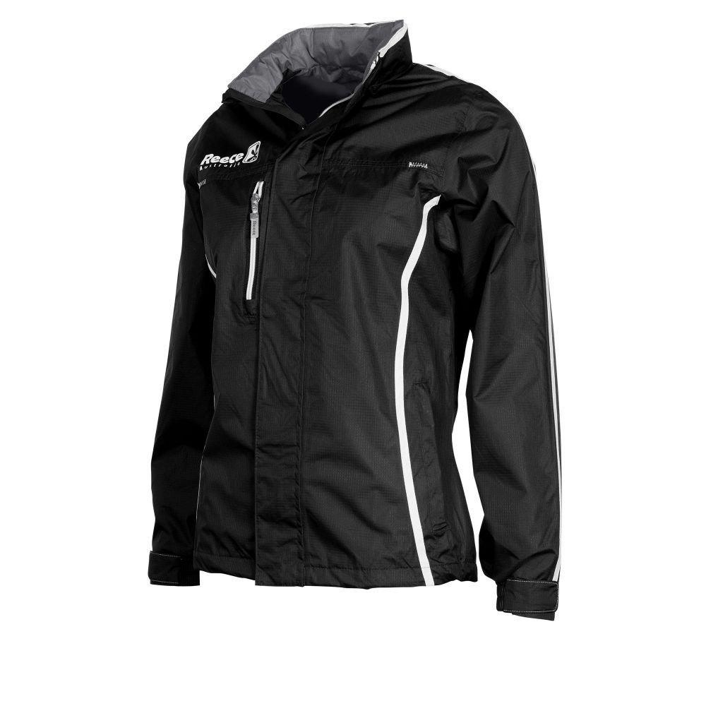 Reece Hockey Atmungsaktive Komfort Jacke Damen - schwarz, Größe Reece XL