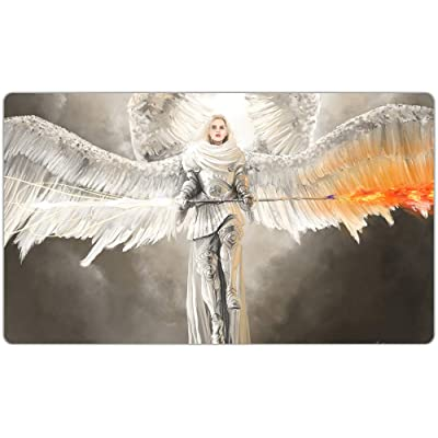 Inked Playmats Purifying Angel Playmat Inked Gaming TCG Game Mat for Cards: Toys & Games