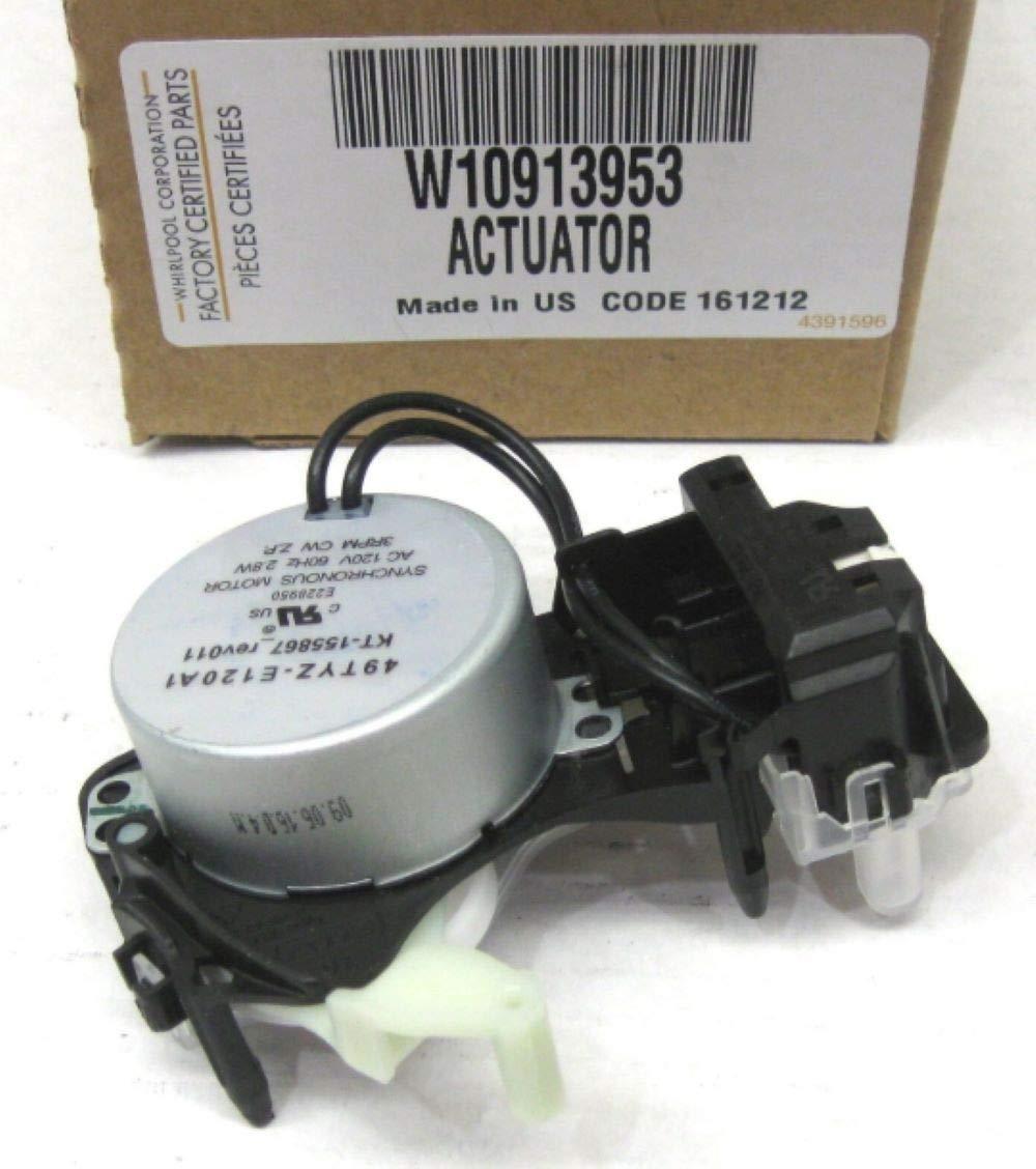 W10913953 Washing Machine Actuator for Whirlpool AP6037270 PS11769864