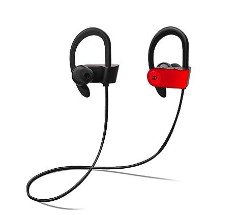 Avenzo AV630RJ - Auricular Deportivo, Color Rojo