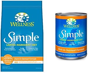 Wellness Well Pack: Simple Limited Ingredient Diet Duck Natural Wet Canned & Dry Dog Food