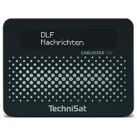 TechniSat CABLESTAR 100 Digital-Radio-Empfangsteil für unverschlüsselte Digitale Radioprogramme Via Kabel, Schwarz