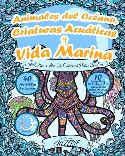 Amazon.com: ANTI-ESTRES Libro De Colorear Para Adultos: Animales del ...