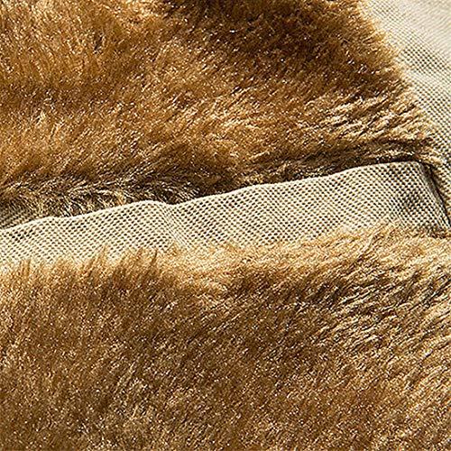 Hiver Section Automne Manteau Pardessus Chaud Grande De Veste Winjin Coton Manteaux Éclair Nouveau Longue Fermeture Blouse Kaki Hommes Slim Taille T1SxO
