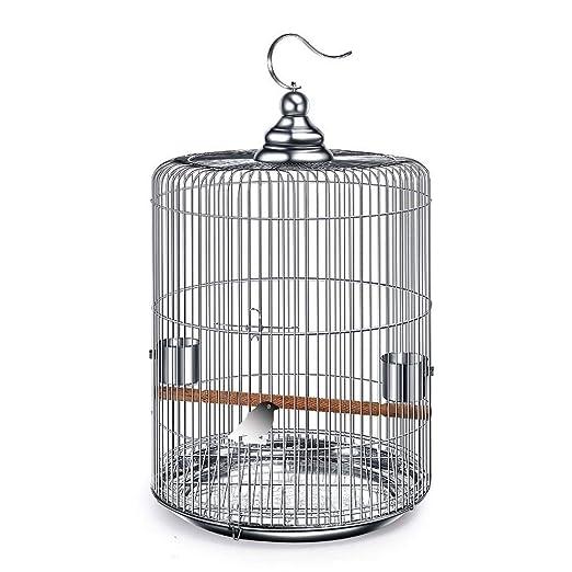 HD-Birds - Jaula de Acero Inoxidable para pájaros y pájaros ...