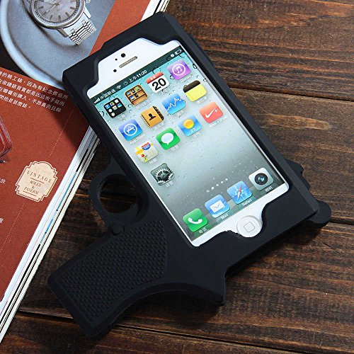 iphone 5s cases for guys raytop cool gun shaped soft silicone cases for apple 17462
