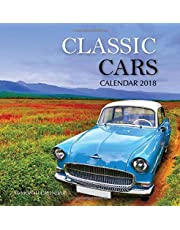 Classic Cars Calendar 2018: 16 Month Calendar