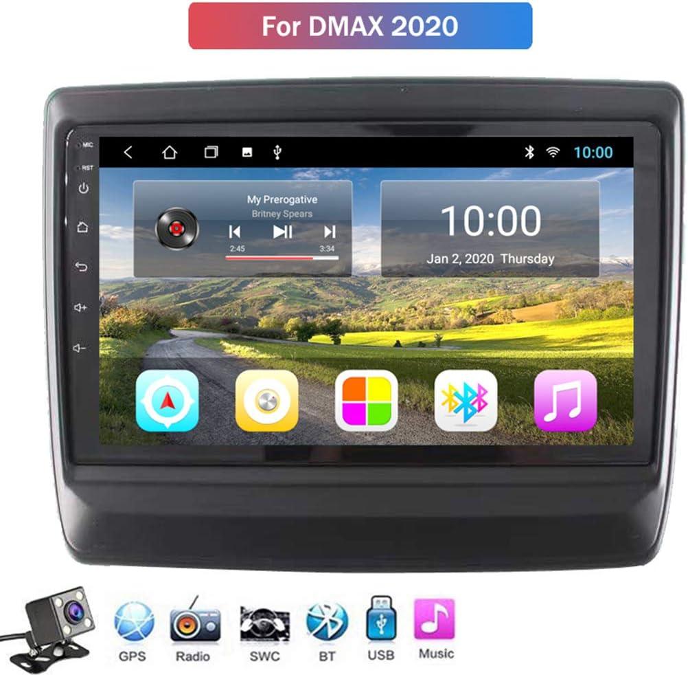 Android 8.1 GPS Navegación del Coche Estéreo para Isuzu D-MAX 2020, con 9 Pulgada Pantalla, Soporte Reproductor Multimedia/Control del Volante/Mirror Link