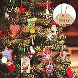 Nuanchu Christmas Ornament Hangers Locking Ropes