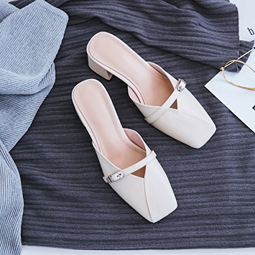 Pointed Shoes Sandals Fashion Dress Office B Comfort XUE Party PU Career Breathable Shoes out amp; Flops Glitter Career Dress Evening Shoes amp; Flip amp; Walking Slippers Sparkling Women's Hollow Summer amp; wxxqUTHX