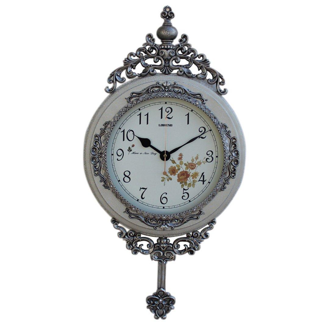 現代 時計 掛け時計 田園 シズネ おしゃれ 掛時計 壁掛け リビング 飾り SFANY B07FNHY9B8 タイプ2 タイプ2