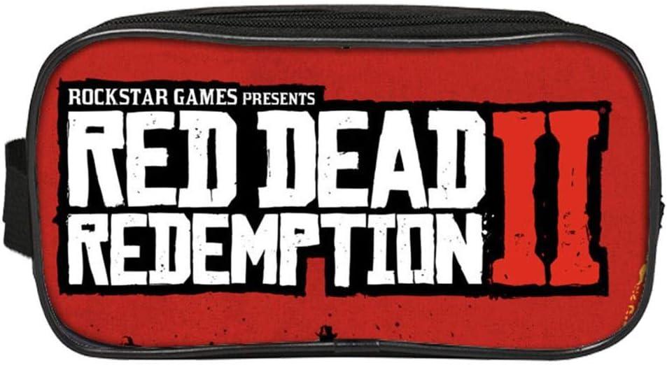 Bolso de la Pluma del Rescate,per Estuches para Lápices para Niños Cajas de Organizador para Bolígrafos Bolso de Papelerías de Juegos Red Dead Redemption: Amazon.es: Hogar