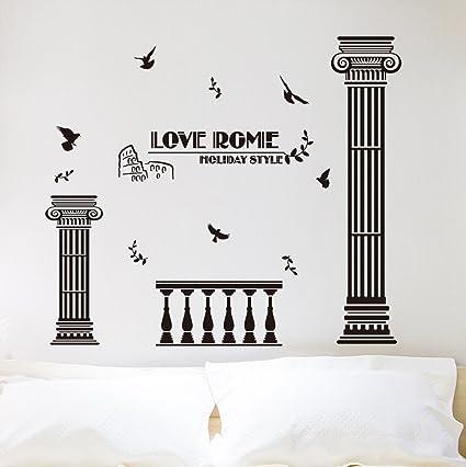 Amazon.com: WallDecals Decor DIY Roman Column Wall Decals Wall ... on towel shelf for bathroom, wall art for bathroom, wall plastic for bathroom, napkins for bathroom, night lights for bathroom, frames for bathroom, labels for bathroom, tin signs for bathroom, wall cabinets for bathroom, wall paper for bathroom, garden windows for bathroom, magnets for bathroom, ornaments for bathroom, artwork for bathroom, christmas for bathroom, decor for bathroom, wall clocks for bathroom, indoor jacuzzi for bathroom, wall plates for bathroom, wall murals for bathroom,