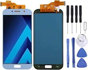 Replacement LCD SCREEN PARTS Professional LCD Screen and Digitizer Full Assembly (TFT Material) for Galaxy A5 (2017), A520F, A520F/DS, A520K, A520L, A520S(Black) Touch Screen ( Color : Color3 )