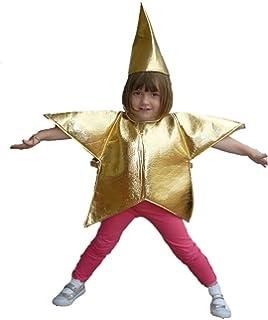 Vestito Da Stella Per Recita Di Natale.Costume Da Stella Bambino 3 4 Anni Amazon It Giochi E Giocattoli