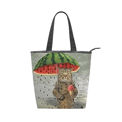275ab0267d34b9 キャンバス バッグ トートバッグ 多機能 多用途2way猫柄 ネコ キャット ショルダー バッグ ハンドバッグ