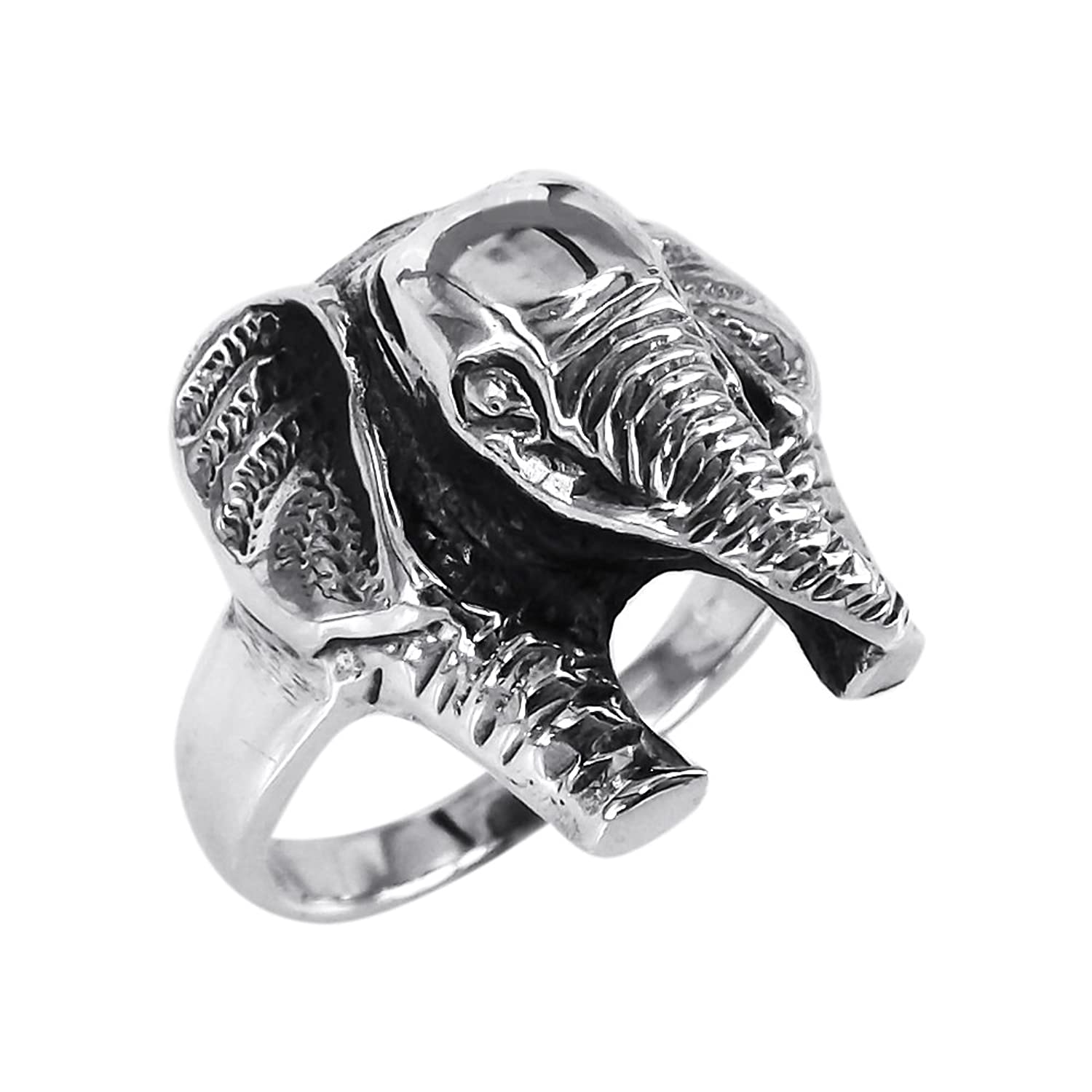 engagement exotic elephant ring luminous rings golden animal in series jewelry