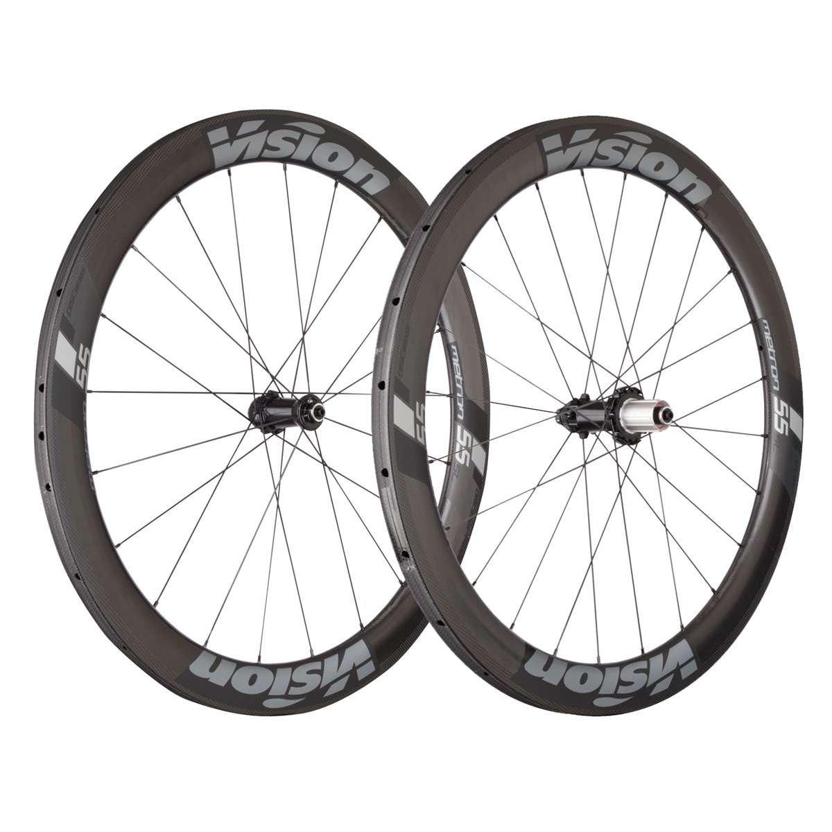 FSAビジョンメトロン55 SLディスクブレーキチューブ状自転車ホイールセット Centerlock  B077D1QSFV