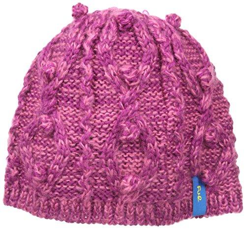 FU-R Hubble Bubble Ski Hat, Berry, One (Fur Headwear)