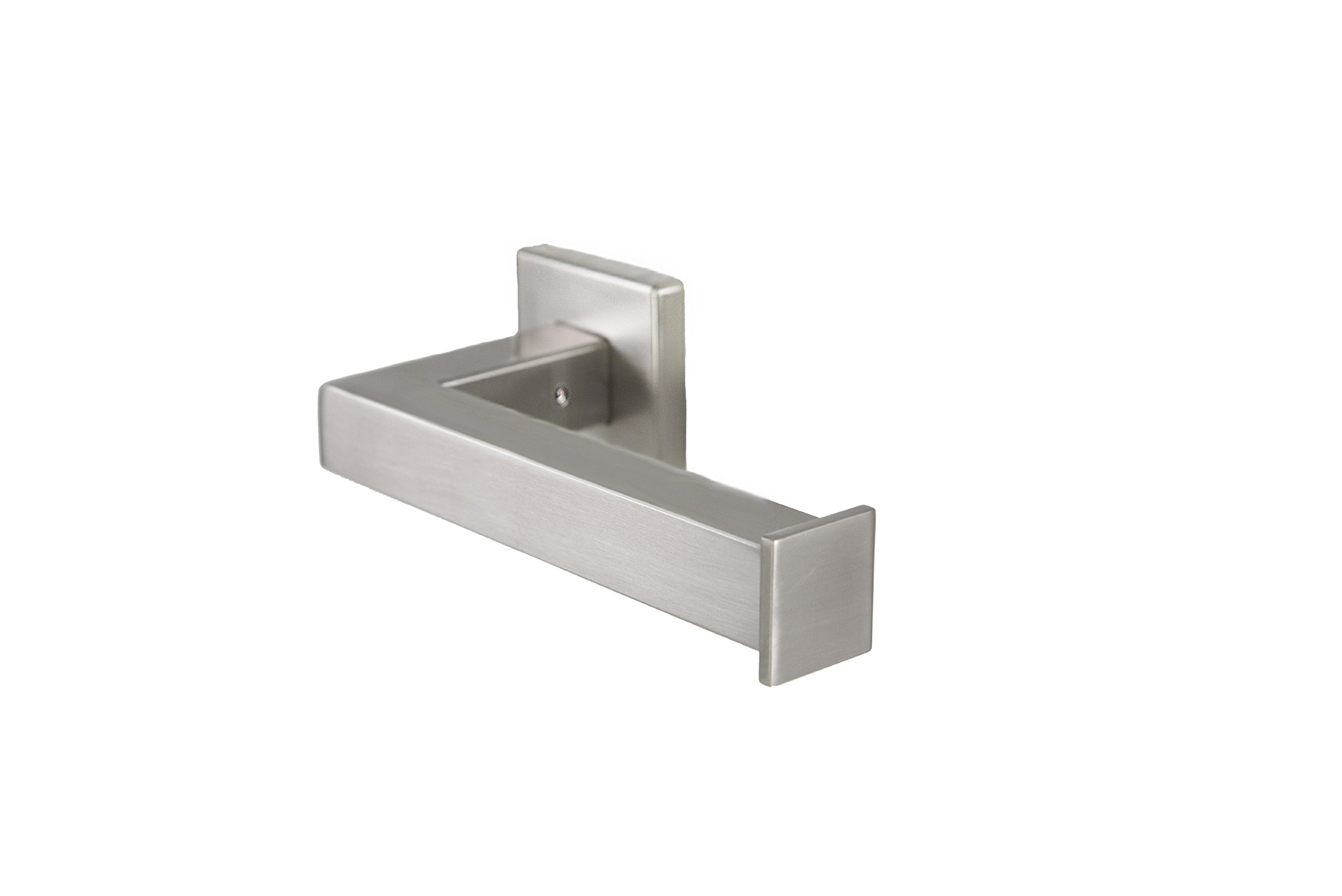 Preferred Bath Accessories 1008-BN-MV-E Primo Collection European Toilet Paper Holder, Brushed Nickel by Preferred Bath Accessories